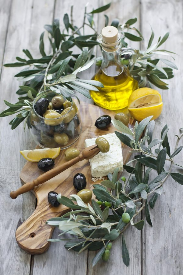 Olives an olive oil